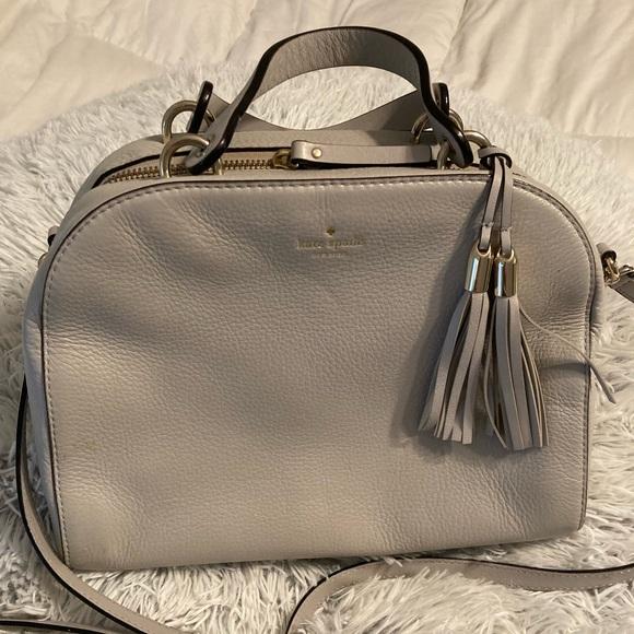 KateSpade Handbag Gray